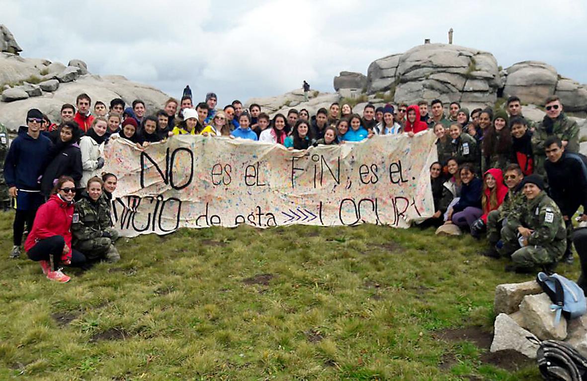 El Celam se sumó a la excursión «Cerro Champaquí 2017»