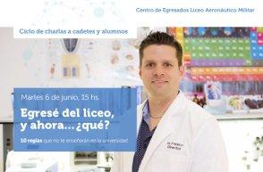 Egresé del liceo, y ahora… ¿qué?  /  Disertante: Dr. Germán García Fresco