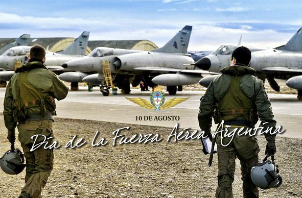 10 de Agosto. Día de la Fuerza Aérea Argentina