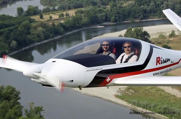 Egresados por el Mundo. Prototipo de avión ultraligero cruzará el Atlántico uniendo Italia con Punta del Este