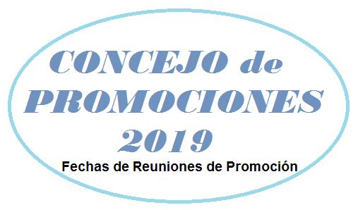 CONCEJO DE PROMOCIONES 2019