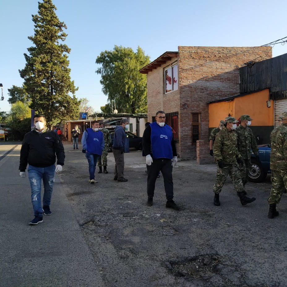 Actividades de Voluntarios durante la Cuarentena COVID-19