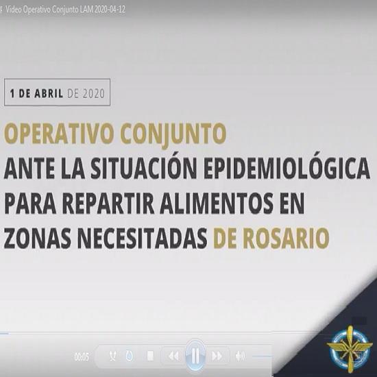 Video interno Operativo Conjunto ante la Situación Epidemiológica 2020