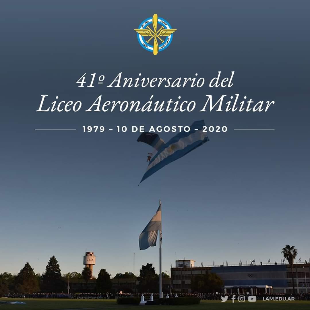 41° Aniversario del Liceo Aeronáutico Militar